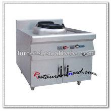 K399 1 Burner With Cabinet Gas Wok Range