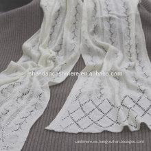 ojeteador de la moda de la venta caliente que hace punto bufanda de invierno merino de la bufanda de las bufandas del invierno de fines multipropósito