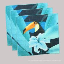 OEM Printed Fashion Table/Tea/Food Towel, Organic Men′s Woven Handkerchief