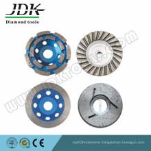 Aluminum Diamond Grinding Cup Wheel Granite