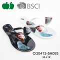 Hot Sale Summer Fashion Women Pvc Flip Flop