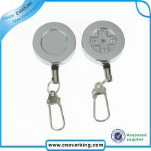 Custom Retractable 4color Logo Badge Holder Pull Reel