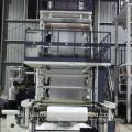 Machine soufflante de film plastique de co-extrusion de LDPE / HDPE monocouche pour le sac de poubelle