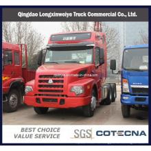 Компания sinotruk 6х4 Wero 310hp стали грузовик с прицепом