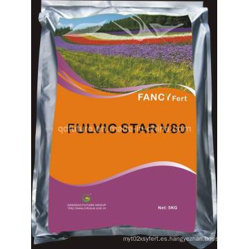 Fertilizante orgánico de ácido fúlvico
