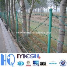 Galvanizado de alambre de púas por metro / asientos de inodoro