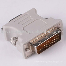 DVI TO VGA CONVERTER / DVI 24 + 5 Male TO VGA Female Monitor Adapter Converter