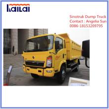 Camiones ligeros Sinotruck Nuevo camión volquete Huanghe C5b 4X2