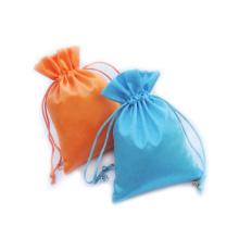 атласные свадебные мешочки для конфет