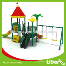Outdoor Playground Equipment Residential With Swing Set