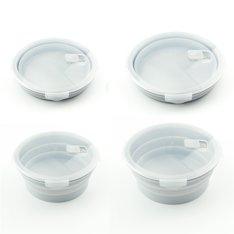 round shape silicone lunch box (14)