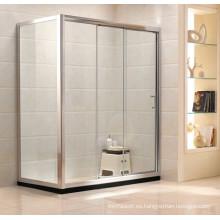 Artículos sanitarios Simple ducha de vidrio templado (G21)