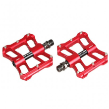 High Demand Machined Red Anodized Mountainbike Pedale