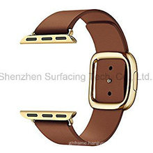 Modern Buckles for Apple Watch Bands Available in Custom Color and Original Sizes