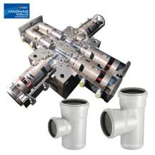 Molde de instalación de tuberías de pvc de plástico de inyección personalizado de alta precisión