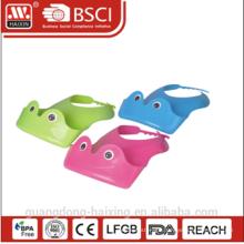Soft non-toxic PE plastic baby bibs