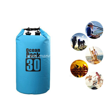 Roll Top Durable PVC 30L Backpack Waterproof Dry Bag