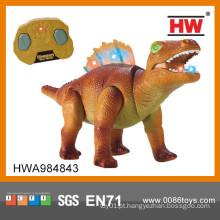 O dinossauro gigante do dinossauro do dinossauro novo do artigo brinca com dinossauro da luz & da música rc