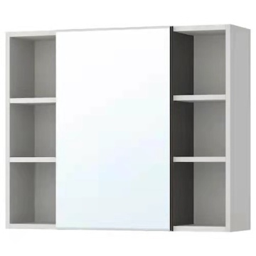 Luxury Led Mirror Bathroom Storage Cabinets with Shelves
