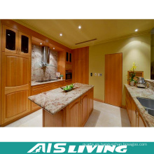 Muebles del armario de la cocina de la chapa de la melamina de la coctelera (AIS-K373)