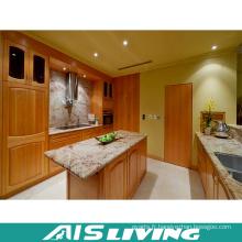 Meubles de placard de cuisine de placage de mélamine de secousse (AIS-K373)