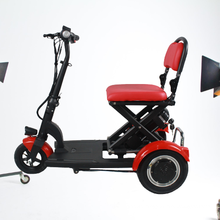 Old Man Three Wheels Mobility Scooter Safe Light Multiffunction Drive Mobility Scooter