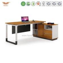 Office L Shape Wooden Executive Desk (H90-0107)