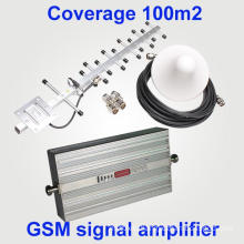 New Model GSM 900MHz 2g 27dBm Cover 1000sqm Mobile Signal Booster GSM Repeater