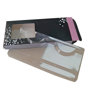 Fashional Cosmetic Handmade Faux Eyelashes Paper Box
