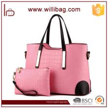 Bolso elegante del bolso de las señoras del bolso del precio de fábrica de la venta caliente