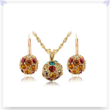 Кристалл ювелирные изделия сплава ювелирные изделия Мода комплект (AJS202)