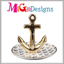 Ceramic Hot Selling Branch Jewelry Ring Holder
