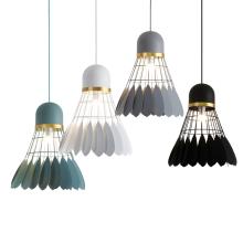 Modern luxury pendant lights vintage industrial lighting metal Badminton Chandelier pendant hanging light