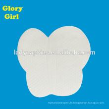 Tampon de sueur en aisselle de coton pour soins personnels de haute qualité