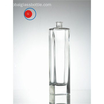 Hot Sale Transparente lange Form klare Flasche