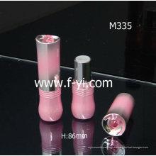 Embalaje de cosméticos de encargo lindo rosado nuevo