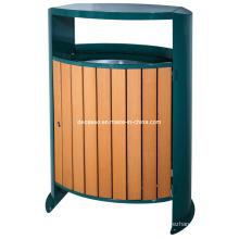 Oval WPC Outdoor Waste Bin (DL104)