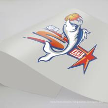 Custom Circle Heat Transfer Sticker Product Logo Label Printing Pantone Bag for Customized Anti