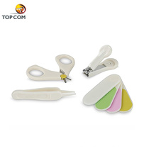 4 pcs free sample nail tools baby nail clipper set with plastic cover