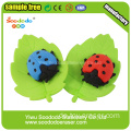 Red Lady Beetles Shaped Eraser, Puzzle Radiergummi für die Schule