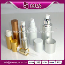 High End Skincare Screen Printing Lotion Bottle And 15ml 30ml 50ml 80ml Cosmetic Packaing Perfume Aluminum Bottle