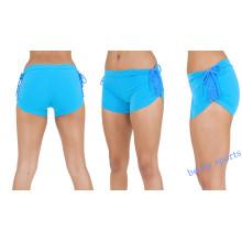 Высокое качество пользовательских спортивных Sexy Girls сжатия йога шорты