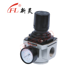 Regulador de presión de aire de aleación con manómetro Ar5000-10