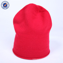 2015 Hot fashion winter high-end knitted natural cashmere hat HWC014 Christmas gift hat women hat wholesale