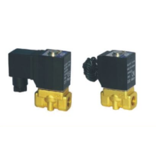 Válvulas de control de fluido de 2KW de acción directa de 2/2 vías solenoides