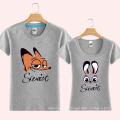 Mode-Druck Großhandel benutzerdefinierte Baumwolle Liebhaber T-Shirt