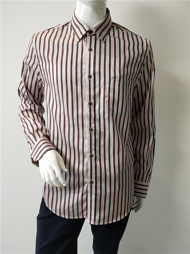 Long Sleeves Striped Shirts