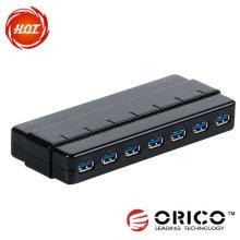 7ports de USB3.0 HUB com alta velocidade
