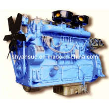50KW - 880kw Diesel Motor / Skoda motor Diesel para o gerador de Set (6135BZLD)