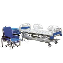 Cama eléctrica de la UCI del hospital de la función ajustable de la barandilla de 3 usos de alta calidad del ABS